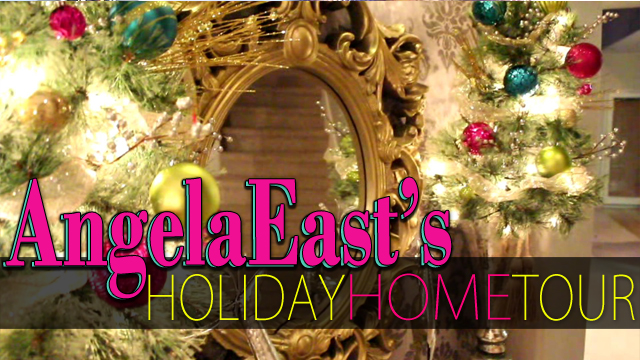 Angela East Holiday Home Tour #homedecor #baroqueinterior #glam #christmasdecor at angelaeast.com